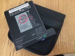 IBM Removable Floppy Disc Drive with original soft case