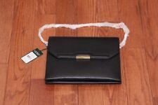 NWT $198 Lauren Ralph Lauren Darlington Amery Medium Shoulder Bag Black