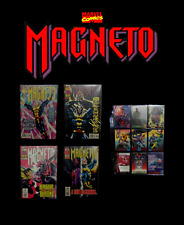 Marvel MAGNETO #1, 2, 3, 4 (Limited Series) X-Men Complete Comics Set with Cards