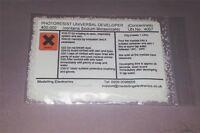 PCB UNIVERSAL PHOTORESIST DEVELOPER  25g (1 litre working strength)