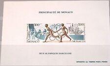 Monaco 1991 Maury BS 16 2013-14 sd B Olympics 1992 Barcelone relais MNH