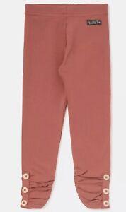 Matilda Jane Sloan Girls Solid Button Cuff Legging, Cedar Sz 2 New in Bag