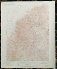USGS Topographic Map 1950  MT. LEWIS QUADRANGLE (LANDER CO.) NEVADA