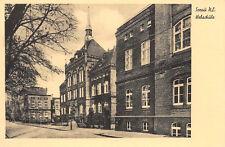 Sorau Żary Lausitz Webschule Postkarte