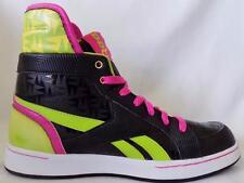 Boys Girls Unisex REEBOK High Top Multicolor Sneakers Shoes sz 4 US 35 EUR