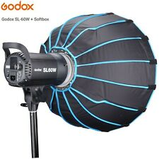Godox SL60W Kit with Softbox for Video Recording,Wedding,Outdoor Shooting