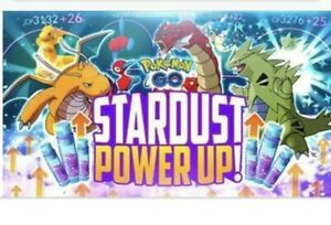 Pokemon Stardust Go Power Up & XP Farming FREE Candy & Egg Hatches Shiny Chance