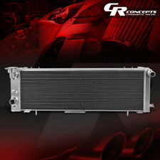 FOR 91-01 JEEP CHEROKEE/COMANCHE 2.5/4.0 3-ROW/CORE FULL ALUMINUM RACE RADIATOR