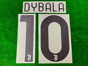 OFFICIAL JUVENTUS FC HOME 2020-21 SERIE A NAME AND NUMBERING DEKOGRAPHICS PRINT