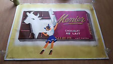 Chocolate advertisement, poster by C.Fromant for brand MENIER, France, cir. 1958