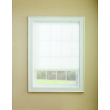 """36""""x72"""" Snow White Light Filtering Cordless Polycotton Cellular Shades / Blinds"""