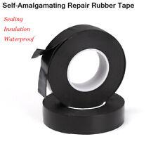 Tube Repair Self-Amalgamating  Tape Sealing Waterproof Rubber Self Adhesive