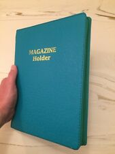 DELLA DELUXE MAGAZINE FOLDER, TURQUOISE, Jehovah's Witnesses, JW.ORG