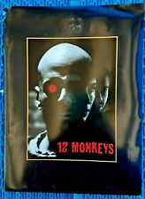 1995 12 MONKEYS FILM PRESS KIT TERRY GILLIAM BRUCE WILLIS BRAD PITT