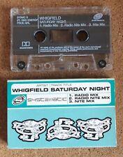 Whigfield..Saturday Night 1994 Cassette Single (Electro/Pop/Disco) SYSMC3