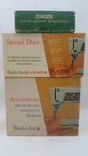 Lot Singer Sewing Machines Attachments Zig-Zag Model 600 603 Special Dish Cams