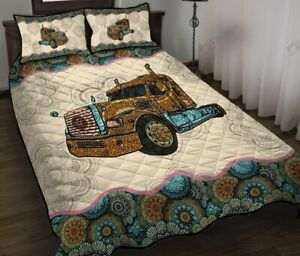 American Truck Quilt Bed Set