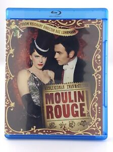 2010 Moulin Rouge Musical Blu Ray Movie Baz Luhrmann Ewan McGregor T874