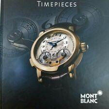 Montblanc Timepieces '08 Catalog Nicolas Rieussec Star Chronograph Villeret 1858