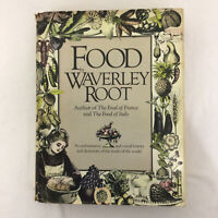 Food By Waverley Root Hardback Book Guide 1980 Dictionary History World Foods
