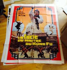 LE FURIE DU MAITRE DU KUNG FU Movie Poster FRENCH KUNG FU MARTIAL ARTS LO LIEH