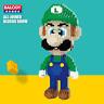 Balody Gebäude Luigi Green Figuren Modell Geschenk Baukästen Spielzeug