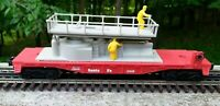 Lionel #6-16618 Santa Fe ATSF Track Maintenance Car 1988