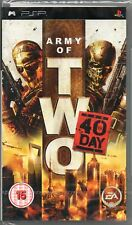 Army OF TWO: THE 40TH DAY GIOCO PSP ~ nuovi/sigillati