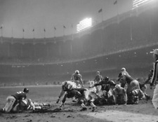 ALAN AMECHE BALTIMORE COLTS GREAT SCORES TD TO WIN 1958 CHAMPIONSHIP 8x10 1