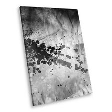 AB1233 Black White Abstract Portrait Canvas Picture Print Large Wall Art Retro