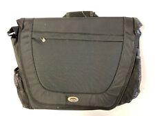 Go Gear Messenger Black Nylon Business Travel Bag Fits up to 17