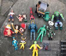 Lavoro Lotto Di Vari Thundercats, He-Man MOTU, ET, 1980 S Toys Figure Maschera