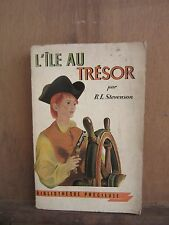 R.L.Stevenson: L'Ile au trésor/ Bibliothèque précieuse/ Librairie Gründ