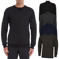 Wolsey Mens CLEARANCE Merino 1/4 Zip Golf Sweaters Jumpers UP TO 83% OFF RRP