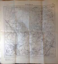 Landkarte Recklinghausen 1892 Suderwich Henrichenburg Erkenschwick Speckhorn