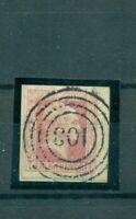 Preussen, Friedrich Wilhelm IV., Nr. 6 gestempelt Randrechts