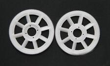 2pcs Tarot 450 Pro Parts main Gear TL1219-01 white/yellow for trex 450