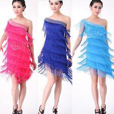 Women Latin Rhythm salsa ballroom competition dance dress dancewear costumes