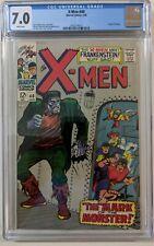 x-men #40 CGC 7.0, Frankenstein  cover. 1st series.  1968
