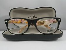 Ray-Ban RB 5184 5409 Matte Havana/Logo New Authentic Eyeglasses 52mm w/Case