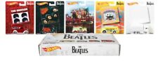 HOT WHEELS POP CULTURE *THE BEATLES* 2017 LOT SET OF 5 TOYS R US EXCLUSIVE BOX