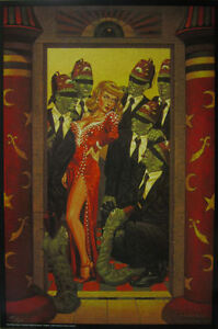 TODD SCHORR PRINT SECRET MYSTIC RITES SIGNED NUMBERED LIMTED EDITION