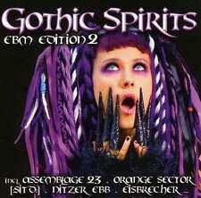 GOTHIC SPIRITS EBM EDITION 2 2CD Eisbrecher NITZER EBB Grendel MEGAHERZ