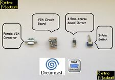 Sega Dreamcast Console Internal VGA higher Definition Bundle KIT