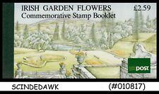 IRELAND - 1990 IRISH GARDEN FLOWERS - STAMP BOOKLET (2-panes MNH