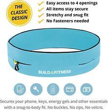 Build & Fitness Running Belt Flip Waist Belt/Key ClipFits iPhone's/Samsung NEW!