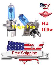 H4 9003 Halogen Xenon Headlight Bright White 5000K 100w Lamp Bulb Fog Light USA
