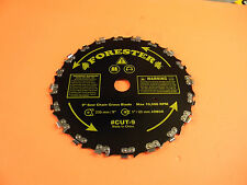 """BRUSH CUTTER 9"""" BLADE FOR TRIMMERS WITH 1"""" ARBOR NEW --- BOXUP407"""