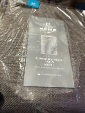 Jcp Home Quinn  Grommet Top Patio Panel 100 X 95 (taupe gray)