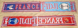 FRANCE - FIJI RUGBY INTERNATIONAL MATCH SCARF